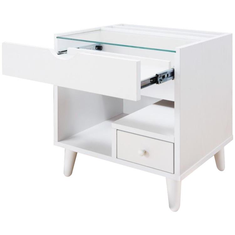 サン・ハーベスト ミニコスメテーブル LT-1300 WH・ホワイト【送料無料】