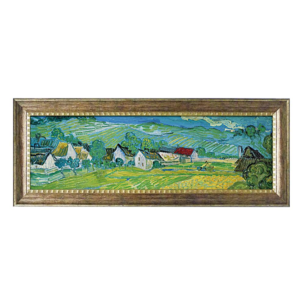 ユーパワー ミュージアム シリーズ ゴッホ「オーヴェールの美しい草原」 MW-18095インテリア 絵 アート