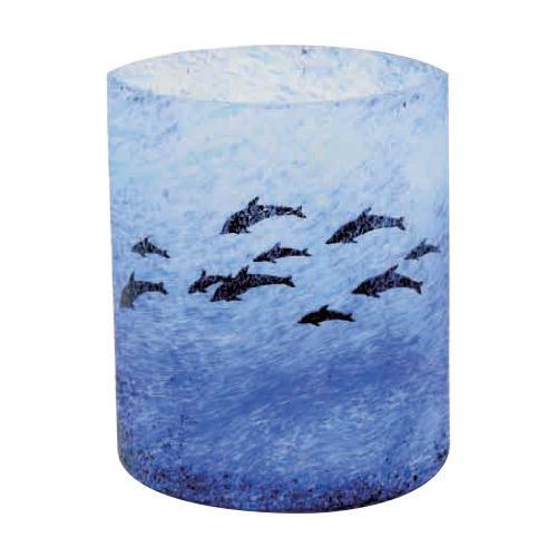 絵画のように表情豊かなカーブグラス 月夜野工房 カーブグラス 海の詩 97W-81【送料無料】