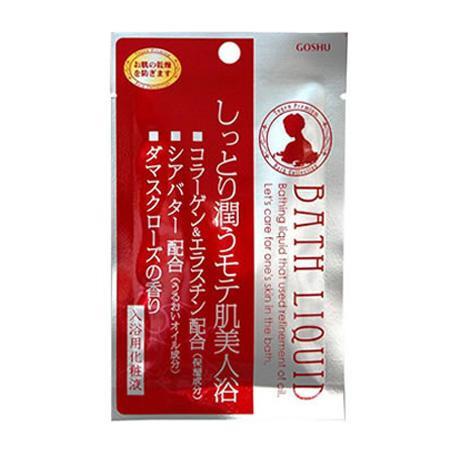五洲薬品 入浴用化粧品 桃源バスリキッド ダマスクローズの香り (30ml×10包)×12箱(120包入り) TBL-R