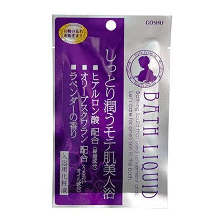 五洲薬品 入浴用化粧品 桃源バスリキッド ラベンダーの香り (30ml×10包)×12箱(120包入り) TBL-L