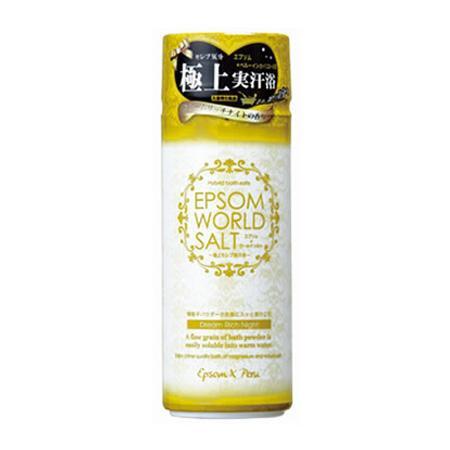 五洲薬品 入浴用化粧品 エプソムワールドソルト ドリームリッチナイトの香り 500g×12本 EWS-YE20