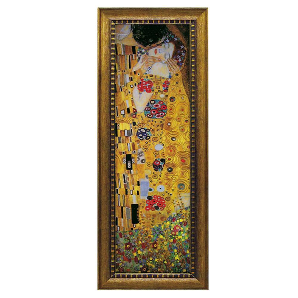 ユーパワー ミュージアム シリーズ グスタフ クリムト「ザ・キス」 MW-18081壁掛け 額 芸術