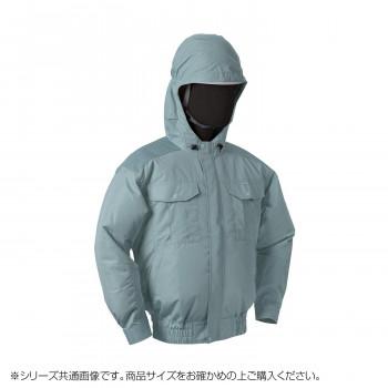 NB-101B 空調服 充白セット L モスグリーン チタン フード 8210077