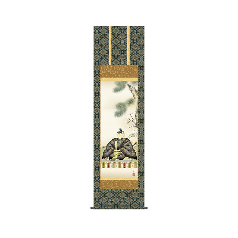 掛軸 長江桂舟「天神」 KZ2MC4-034 44.5×164cm