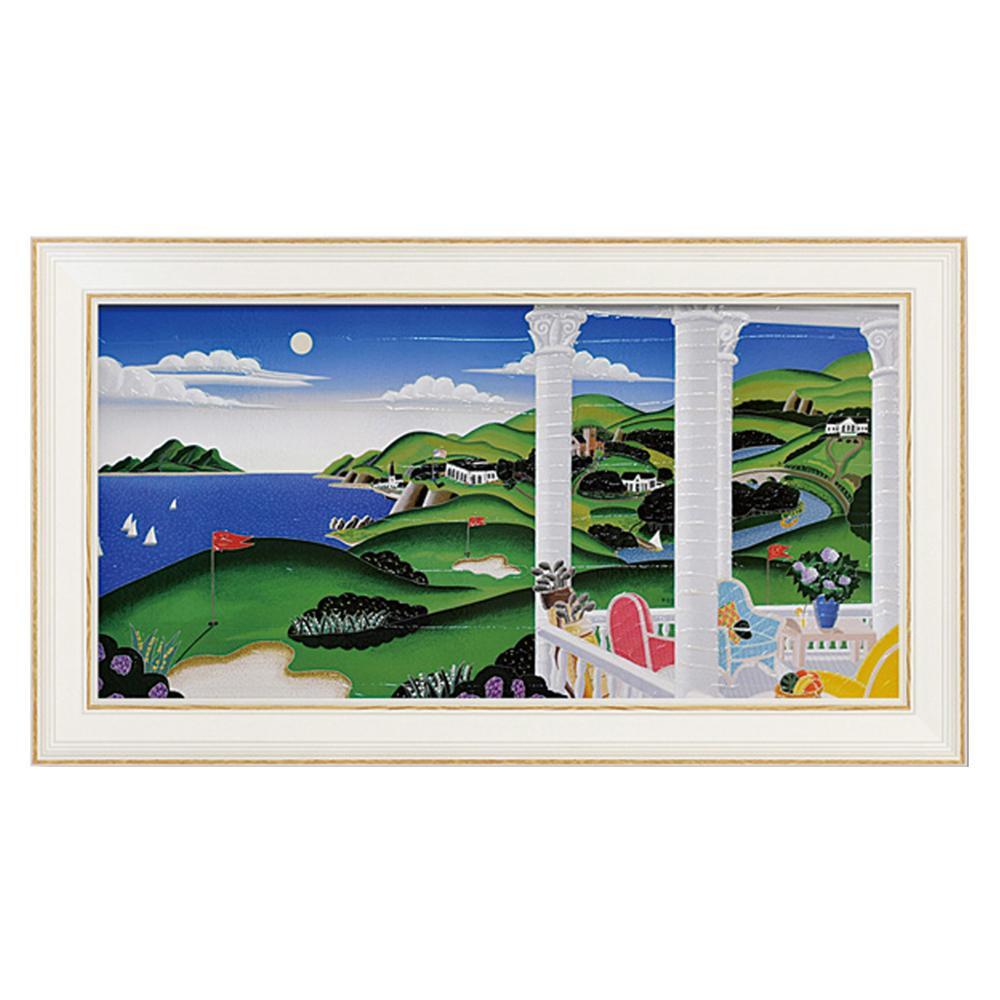 ユーパワー トーマス マックナイト「シーサイド ゴルフ」 TM-12012絵 風景画 インテリア