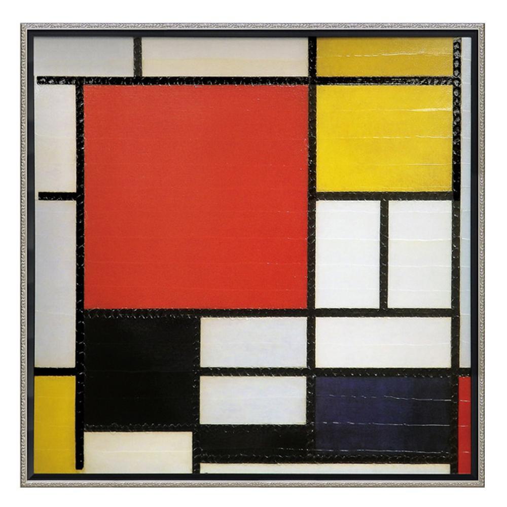 ユーパワー ピエト モンドリアン「コンポジション ライン&カラー」 PM-20022アート 絵 壁掛け