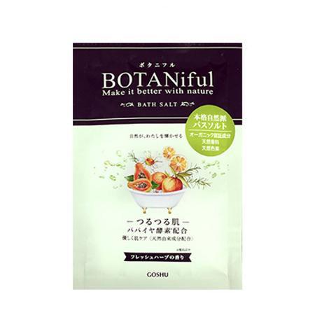 五洲薬品 入浴用化粧品 ボタニフルバスソルト フレッシュハーブ (35g×4包)×24個 BOT-FRB