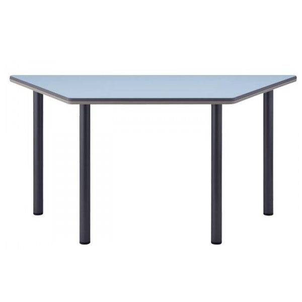 4本脚テーブル  台形 TCS-1500 150×65×70cm シルバー脚【送料無料】