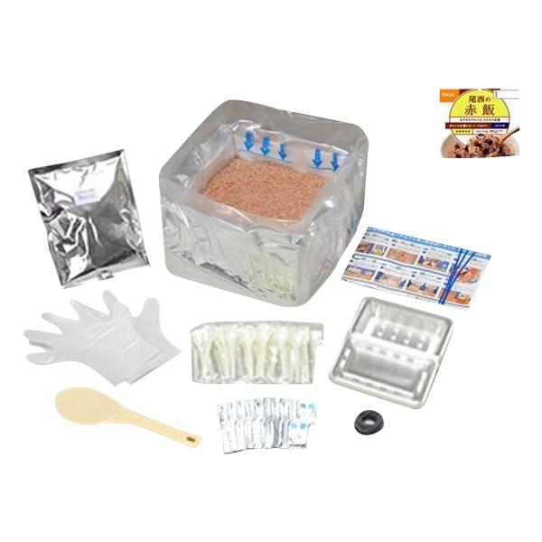 尾西食品 アルファ米 赤飯 炊き出しセット(50食分) 長期保存食 アレルギー対応食品 ハラル食品【送料無料】