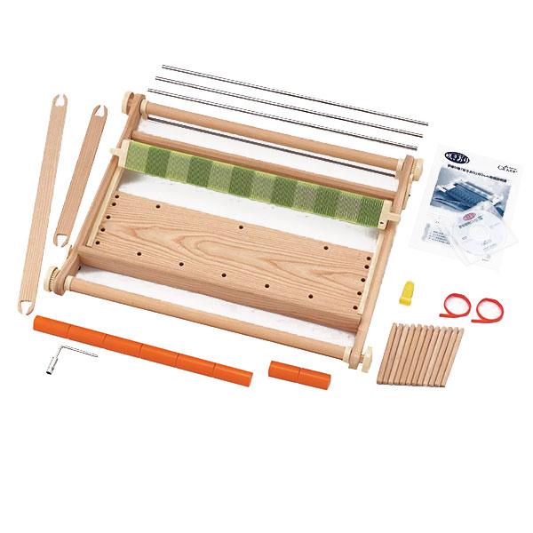 クロバー 手織り機「咲きおり」 60cm(40羽セット) 57-952編み物 手作り ハンドメイド