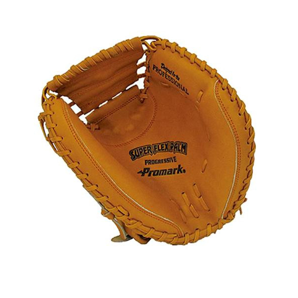 Promark プロマーク 野球グラブ グローブ 軟式一般 捕手用 キャッチャーミット オレンジ PCM-4363【送料無料】
