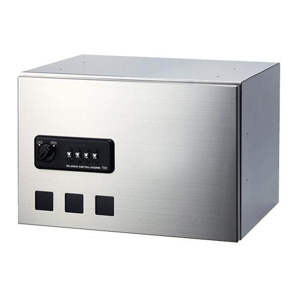 タジマメタルワーク 宅配ボックス 前入前出タイプ ダイヤル錠式 小型荷物用 GX36-24【送料無料】