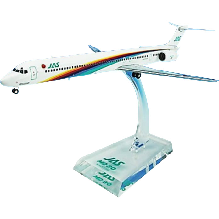 JAL/日本航空 JAS MD-90 3号機 ダイキャストモデル 1/200スケール BJE3036【送料無料】