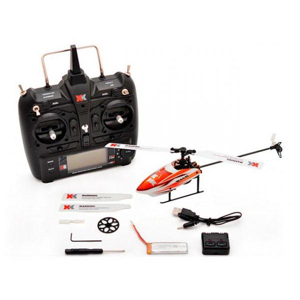 ハイテック XK製品 6CH ブラシレスモーター 3D6Gシステムヘリコプター K110 RTFキット【送料無料】
