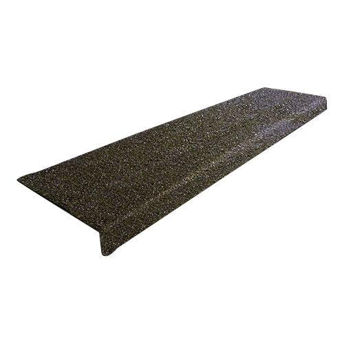 SAFEGUARD 階段用滑り止めカバー 6インチ単色x914mm幅 914x150x25mm 黒木材設置用ネジ付属 12090-W