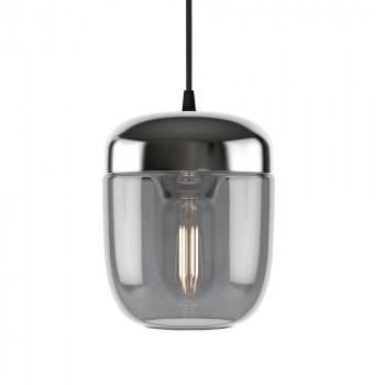 ELUX(エルックス) UMAGE(ウメイ) Acorn 1灯ペンダント スモーク×スチール ブラックコード 02214