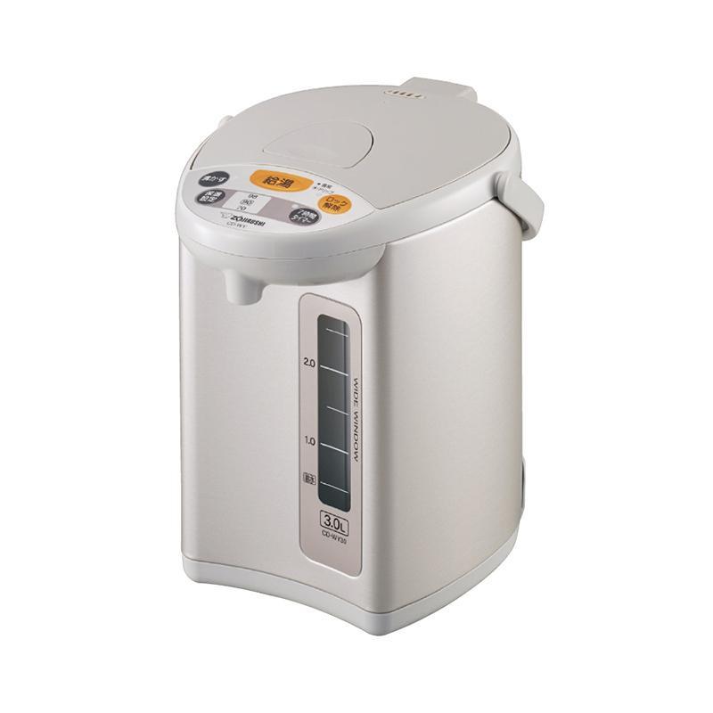 象印 マイコン沸とう電動ポット3L CD-WY30-HA 6201-011見やすい 使いやすい シンプル