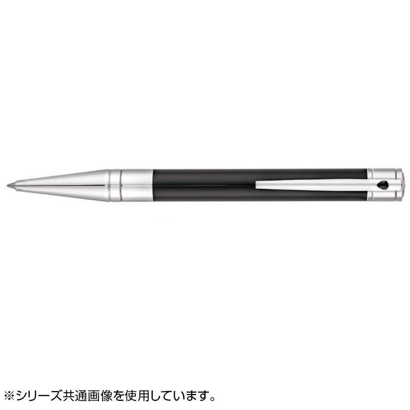 D・イニシャル ボールペン (イージーフロー) ブラックラッカー/クロム 265200