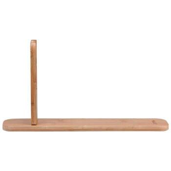 竹製のうちわたて うちわ立 《週末限定タイムセール》 ストアー 組立式 9036