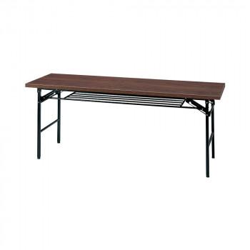 オフィス家具 ミーティングテーブル ハイタイプ 180×60×70cm ローズ KM1860T-R