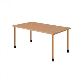 オフィス・施設向け家具 スタンダードテーブル 4本固定脚 ナチュラル UFT-4K1690-NA-L1