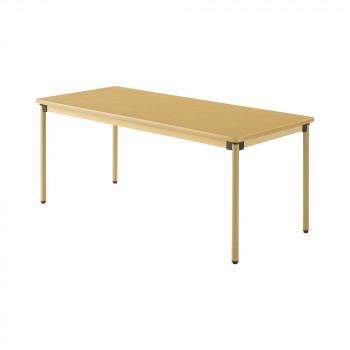 オフィス・施設向け家具 オールラウンドテーブル 180×75×70cm メープル UFT-ST1875