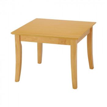 オフィス・施設向け家具 ローテーブル 60×60×45cm ナチュラル UFT-RW6060-NA