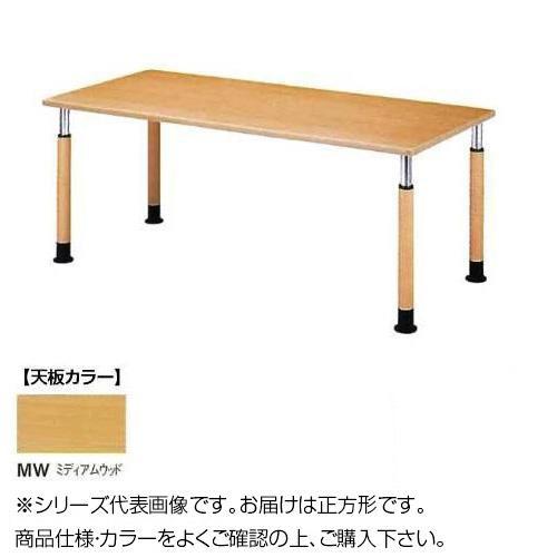 ニシキ工業 FPS WELFARE FACILITIES テーブル 天板/ミディアムウッド・FPS-0909K-MW