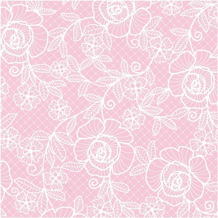 パックタケヤマ 包装紙 ローズレース ピンク四六1/2 50枚×10包 XZT01682プレゼント ギフト ラッピング