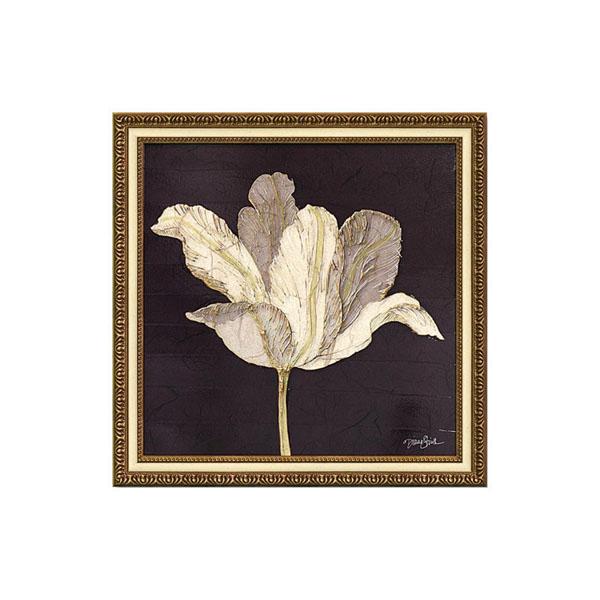 ユーパワー アートフレーム ダイアン スティムソン「チューリップ ウィズ ブラック」 DS-13026絵 壁掛け 額
