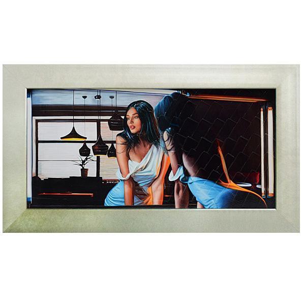 ユーパワー アートフレーム ピエール ベンソン「イン ザ ディム ライト」 PB-12003美術品 インテリア 壁掛け