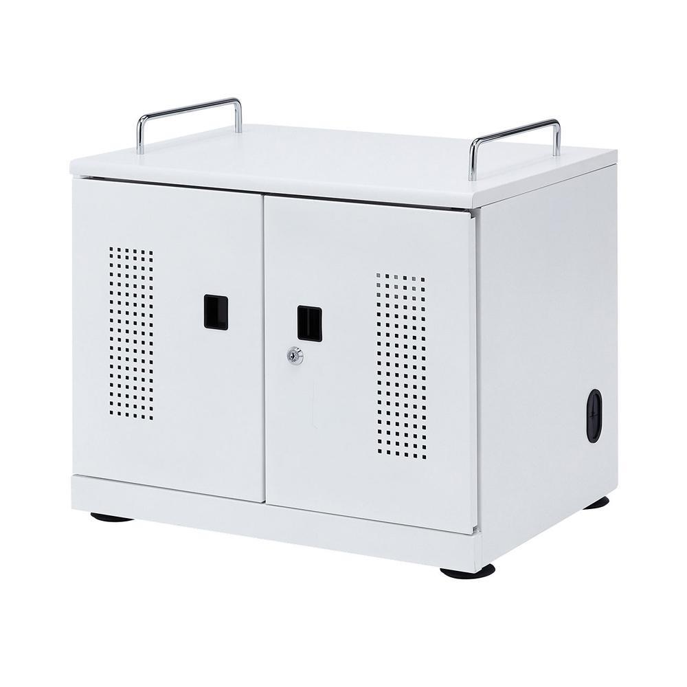 サンワサプライ タブレット収納キャビネット(20台収納) CAI-CAB103W保管 ラック 棚