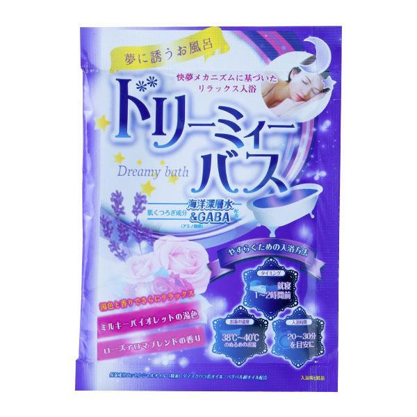 五洲薬品 入浴用化粧品 ドリーミィーバス ローズアロマブレンドの香り (50g×10包)×12セット DMR-20
