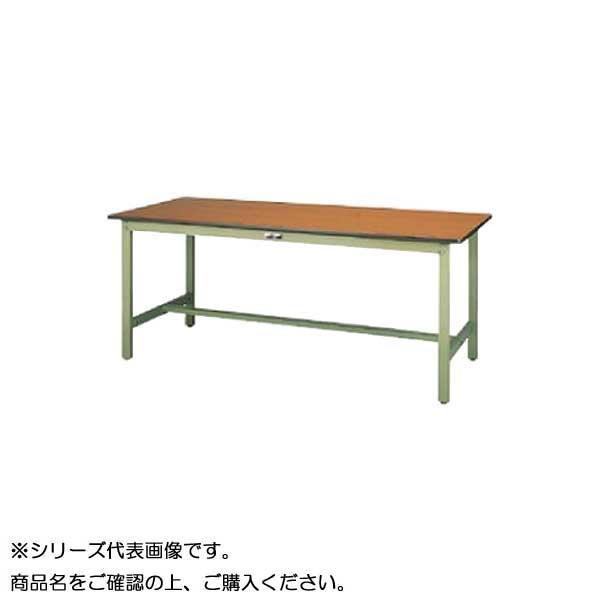 SWPH-1590-MG+D1-G ワークテーブル 300シリーズ 固定(H900mm)(1段(深型W500mm)キャビネット付き)