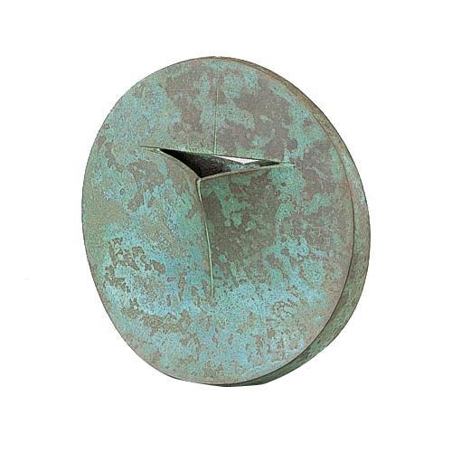 高岡銅器 銅製花瓶 馬場忠寛作 核(かく) 100-01