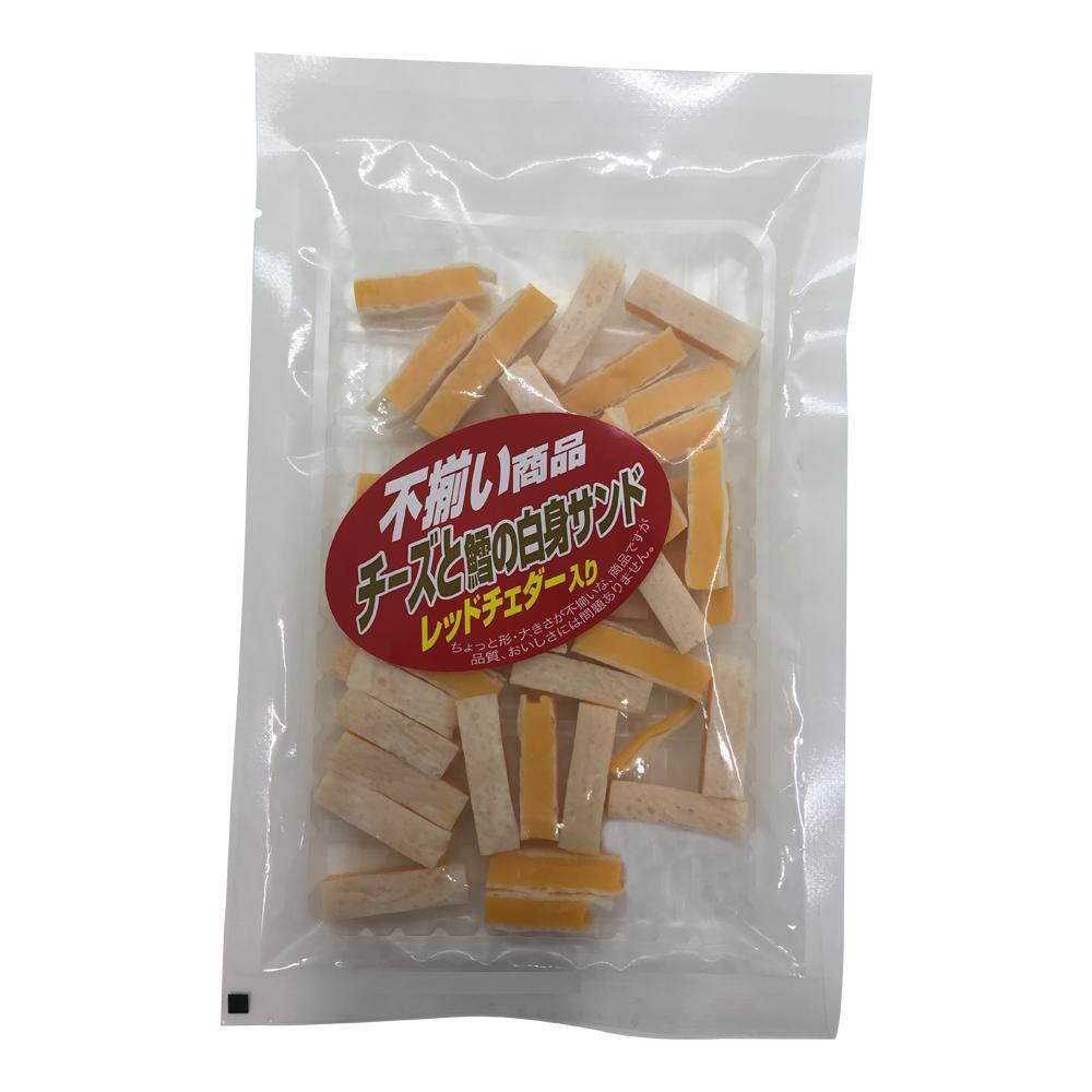 扇屋食品 不揃い商品チーズと鱈の白身サンドレッドチェダー入り(110g)×60袋
