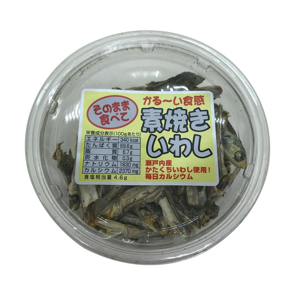扇屋食品 素焼きいわし(80g)×48個