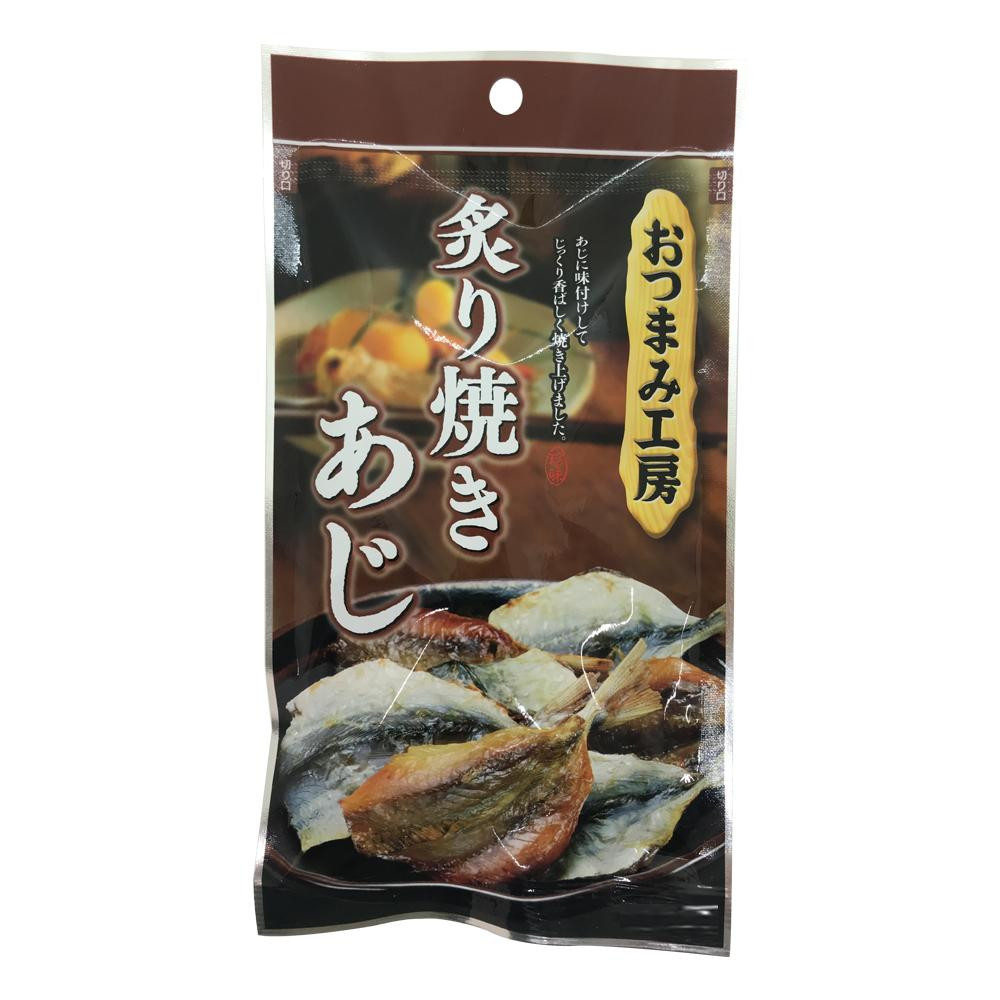 扇屋食品 おつまみ工房 炙り焼きあじ(30g)×100袋