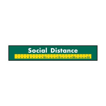 横長型フロアシール フロアシール 44143 Social 深緑地 最安値 贈物 Distance