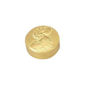 高岡銅器 銅製小物 高村光雲原型 肉池 春鶏 金箔 54-07贈答用記念品 置き物 日本製
