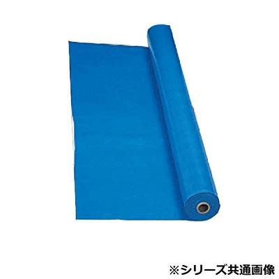 萩原工業 日本製 ターピークロス ♯3000 ブルー 3.6×100m