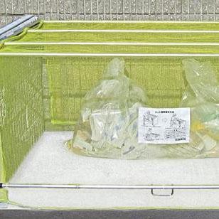 ダイケン ゴミ収集庫 クリーンストッカー ネットタイプ CKA-1612簡単設置 レール 散乱