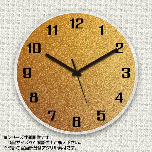 MYCLO(マイクロ) 壁掛け時計 アクリル素材(クリア) 丸型 23cm コルク柄 com724【送料無料】