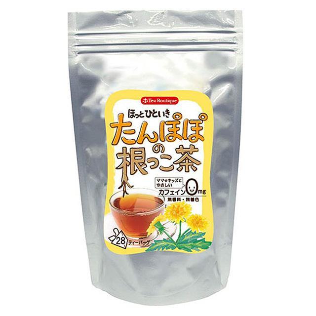ティーブティック 健康茶 ノンカフェイン たんぽぽの根っこ茶 28TB×6セット 14221【送料無料】