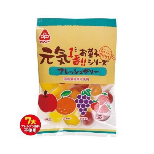 サンコー 元気 フレッシュゼリー 10袋【送料無料】