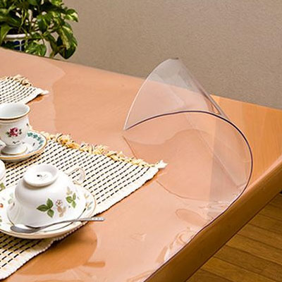 日本製 透明抗菌テーブルマット(2mm厚) 表面抗菌加工・裏面非転写加工 約1000×2000長 TK2-2010【送料無料】
