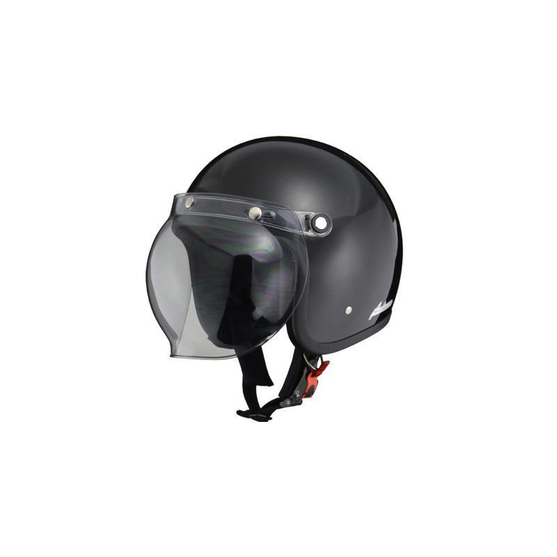 リード工業 Ambrose ジェットヘルメット ブラック LLサイズ AB-505