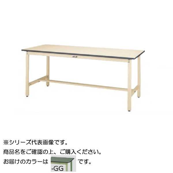SWR-775-GG+S2-G ワークテーブル 300シリーズ 固定(H740mm)(2段(浅型W394mm)キャビネット付き)