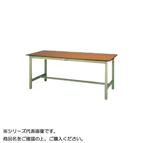SWPH-1560-MG+L1-G ワークテーブル 300シリーズ 固定(H900mm)(1段(浅型W500mm)キャビネット付き)